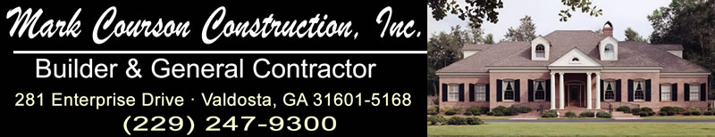 Mark Courson Construction Located in Valdosta Georgia